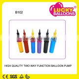 Party suppliers SGS approved high quality hand pump balloon accessories,balloon sticks