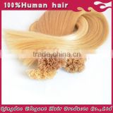 2015 alibaba china wholesale unprocessed brazilian human hair ombre u-tip hair