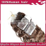 Alibaba Best Selling Products Double Drawn Remy Most Popular Mirco Loop Hair