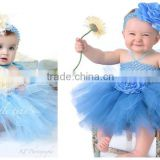 2015 Infant Baby Girls Tutu Dress Cute Baby Birthday Party Dress European Festival Girl Dress
