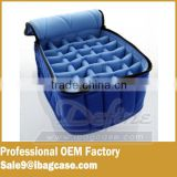 "Soft Essential Oils Carrying Cases 30-bottle 5ml 10ml 15ml & 30ml - 4""x6""x7"" - Royal Blue"