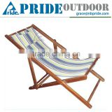 Outdoor Cheap Beach Chairs Wholesale Canvas And Wood Beach Chairs Folding Wooden Beach Chair Canvas                                                                         Quality Choice