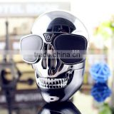 (hot style) skull head travel gift portable power bank, cute power charger, mini USB mobile power bank charger