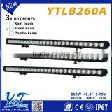 Attractive price! 42.4'' aluminum profiles prices led light bar 10-30v for truck suv