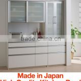 Various types of durable modern kitchen cabinets with superior durability