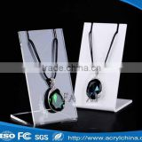 Fashion Necklace Display Acrylic Necklace Display PMMA acrylic display Stand