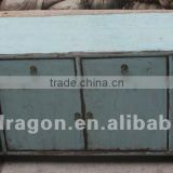 Chinese antique furniture blue pine wood Dongbei four door four drawer cabinet