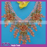 FS 007 embroidery beaded collar for clothing wholesale