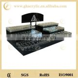 cosmetic display for eye shadow, exhibition show table