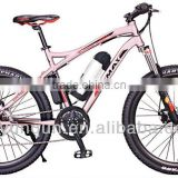 EN15194 lithium battery mountain e-bike /electric bicycle with Bafang mid/center motor kit 250W/ YQ-M2608A                                                                         Quality Choice