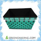 Home Decoration Non woven Closet Fabric Bin Drawer Container Cube Storage