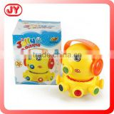 Lovely cartoon plastic electric bump & go octopus toy