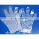 Hot sale disposable clear PE gloves