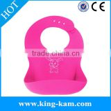 manufacturer Safe-Easy Wash-Waterproof Silicone Baby Bibs baby drool bib