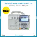 CE&ISO Approved ECG-A8803 3 Channel 12 Leads ECG/EKG Machine with 5.0 inch Color TFT LCD Display