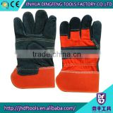 working gloves ordinary leather industrial leather gloves supplier in china working leather gloves
