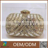 2016 new style cheap price clutch bag hard case evening bag                                                                         Quality Choice