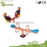 Excellent outdoor two seat teeter totter
