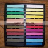 Fashion Hair Chalk 24 Colors Dye Pastels Temporary Hair Crayons
