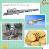 Automatic machine manufacturing hard and soft biscuit