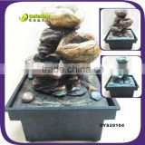 In Stock !Cheap Outdoor decor resin owl statue water fountains
