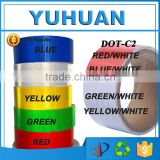 Colored PVC/PET Based Truck Vehicle Adhesive solas approved reflective tape