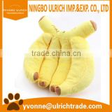 WP51 fashion banana dog toys plush for wholesale