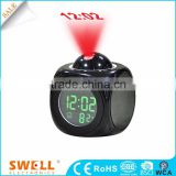 hot sale projector weather clock , clock with projection ceiling