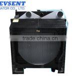 Copper brass/aluminum water 6BTAA Radiator for diesel engine generator set                                                                         Quality Choice