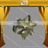 flower shape metal decorative curtain accessories curtain clip