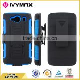 Armor Holster Robot Cover Case for ZTE L2 PLUS Various phone brands black blue