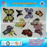 Fashion custom design waterproof temporary body tattoo sticker, waterproof tattoo sticker