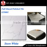 Chinese Cheap Low Price 60x60 Snow White Full Glazed Imitation Flooring Marble Tile                                                                         Quality Choice