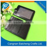 RFID leather passport card holder, wholesale men leather passport cover in all colors with brand logo in sale