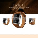 For Apple Watch,Double Tour Cow Leather Genuine Leather For Apple Watch Band