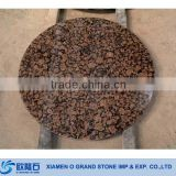 Baltic Brown Granite Stone Tables Round Granite Table Top Granite Lab Table                                                                         Quality Choice
