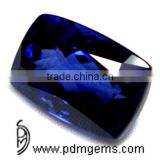 Tanzanite Cushion Cut Faceted For Platinum Bracelet From Jaipur