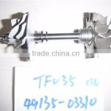 TF035 49135-03310 4M40 turbocharger rotor assembly/ turbine shaft&wheel for Mitsubishi Pajero, FUSO Canter