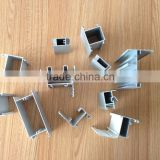 Different shaped Sandblasting Anodized Aluminum profile for all kinds of doors and windows