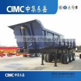 CIMC Three Axle Dump Trailer, China Tipper Trucks Trailers Transport Sand