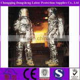 100% Nylon coating neoprene Fire Retardant Working Clothing Heat Resistant Firefighter Suit