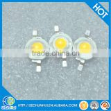 Wholesales red green blue white yellow high bright 3w power led