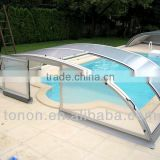 swimming pool protection factory plastic sheet PC62 polycarbonate solid sheet for swimming roof