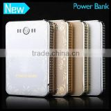 8000mAh Ultra-Compact High Capacity Portable Charger Backup External Battery Pack Lithium Ion Battery Power Bank