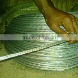 high voltage electrical stay wire
