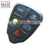 High Quatity Volvo 5 button remote key shell Car Key Volvo remote key shell