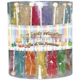 Assorted rock candy stick for coffie lolly rock crytal candy