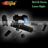 Tactical Green Laser Sight System by BIJIA Optics with Rifle Picatinny/Weaver and Shotgun Mount - AR 15 Hunting Scope