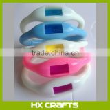 Silicone mosquito repellent bracelet anti mosquito band/effective anti mosquito bracelet