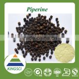 100% natural black pepper extract 98% piperin /black pepper extract bulk piperine extract 98%/black pepper extract